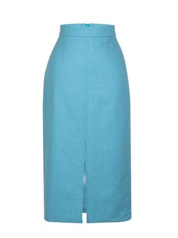 Skirt  Blue Melange